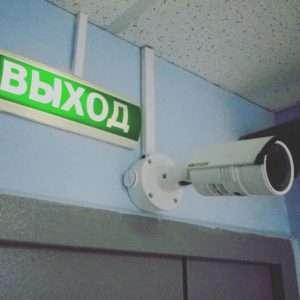 IP видеонаблюдение в помещение